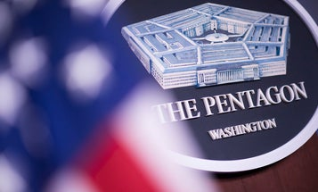 I'm returning to the Pentagon because I'm tired of hearing 'You're on mute'