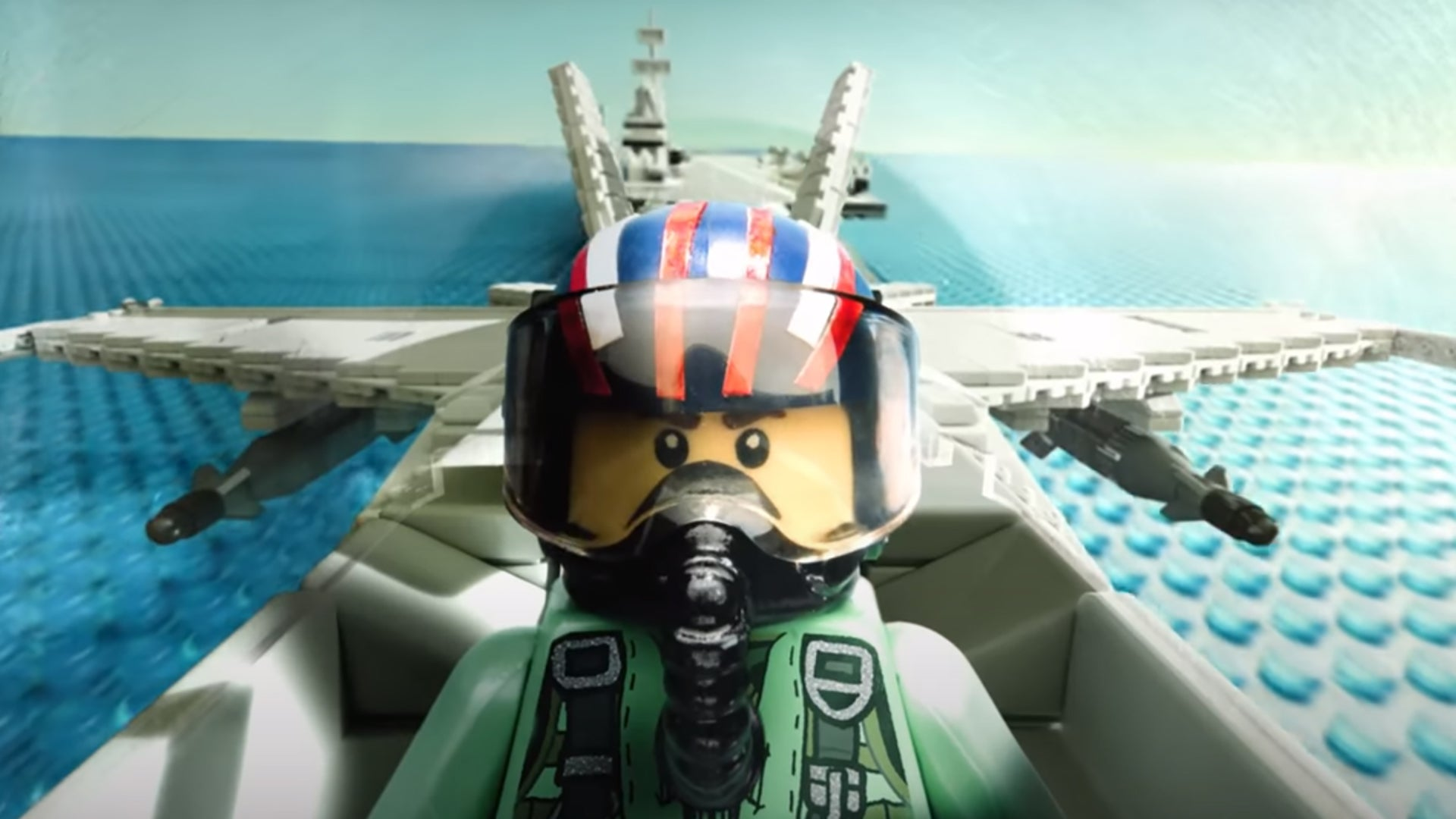 This LEGO 'Top Gun: Maverick' trailer looks better than the actual movie