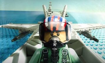 This LEGO 'Top Gun: Maverick' trailer looks better than the actual movie