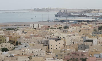 Navy officer convicted of living with prostitutes in Bahrain partially gets off