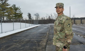 The path from immigrant, to soldier, to officer