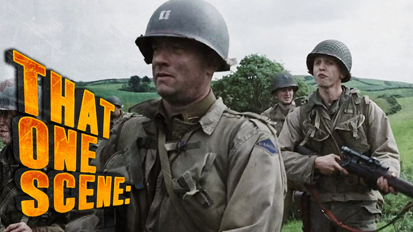 What that one scene in 'Saving Private Ryan' teaches us about complaining in the military
