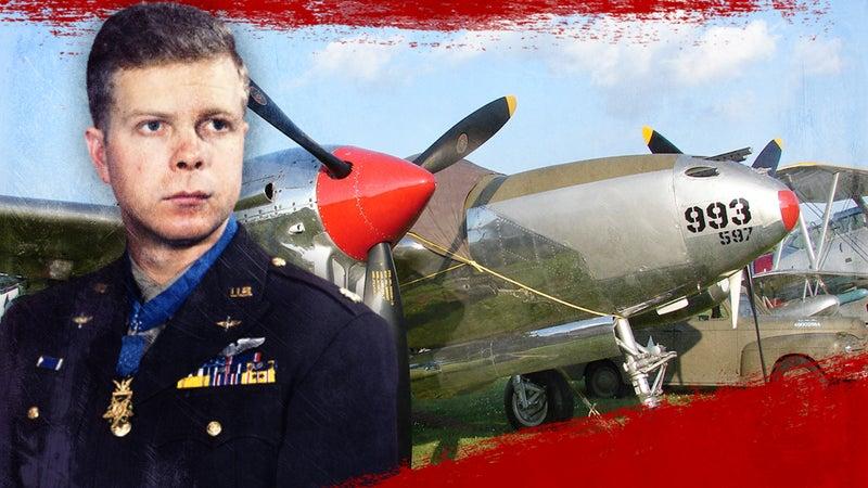 We salute Maj. Dick Bong, for obvious reasons