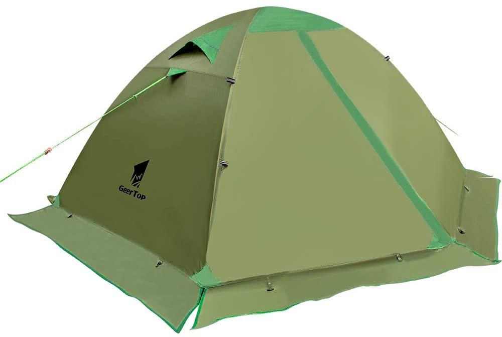 GeerTop 4-Season 2-Person Backpacking Tent