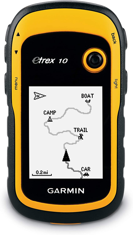 Garmin eTrex 10 Worldwide Handheld GPS