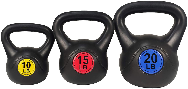 BalanceFrom Kettlebell Weight Set
