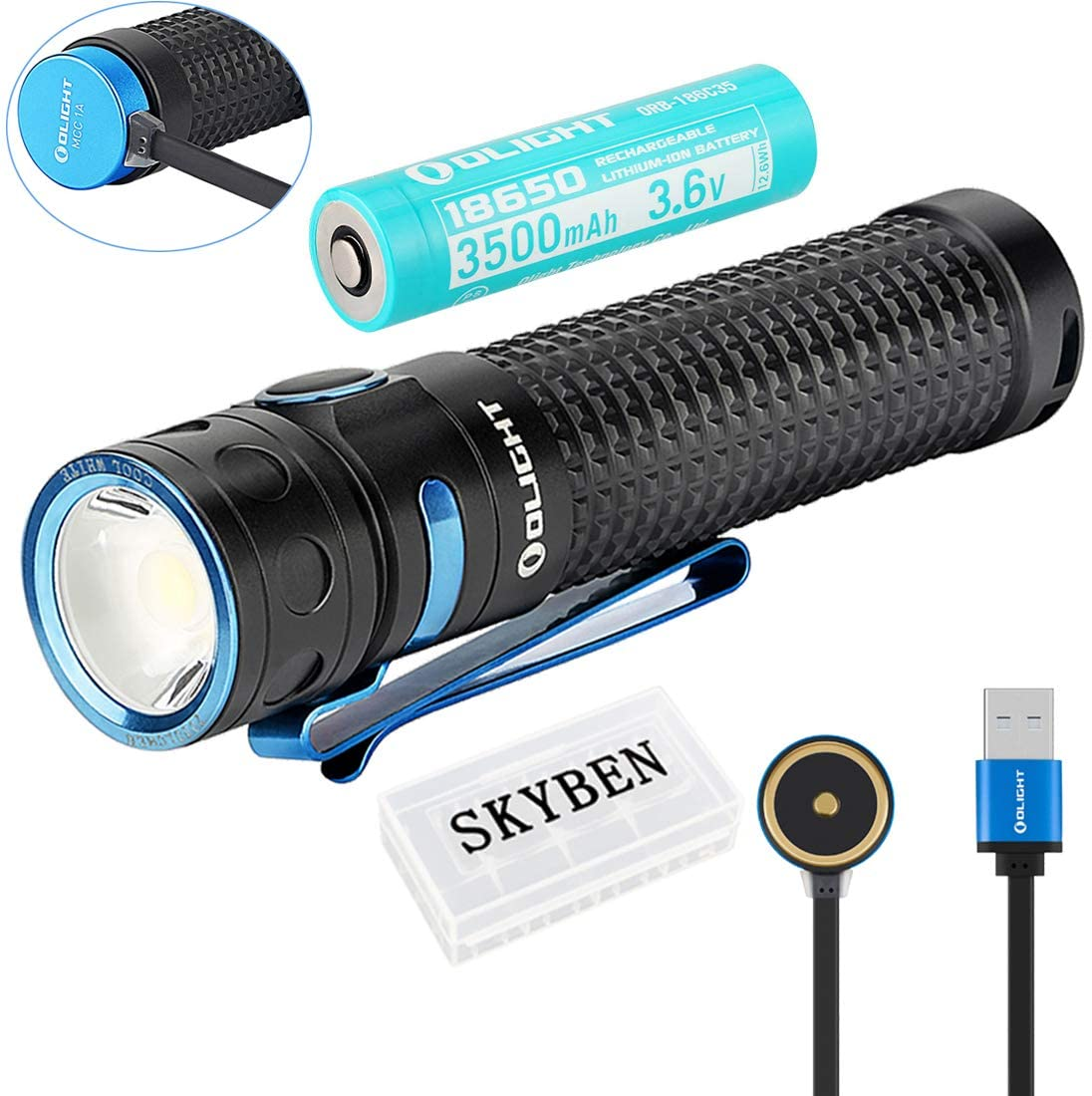 Olight Baton Pro LED Flashlight