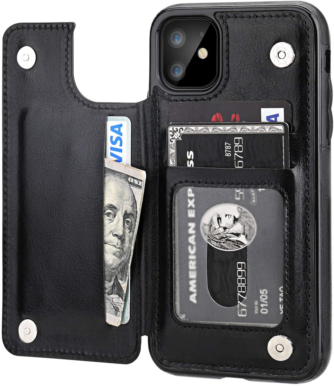 OT Onetop iPhone Wallet Case with Card Holder