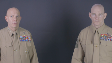 marine corps commandant gen berger and sgtmaj black