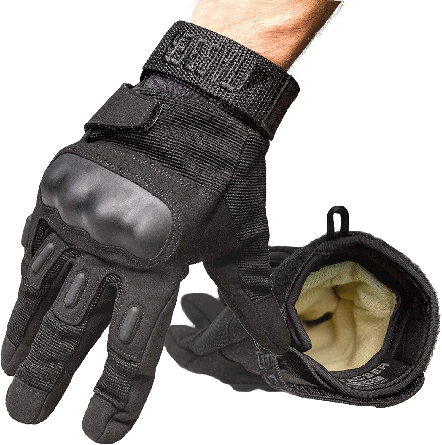 Tac9er Kevlar Lined Tactical Gloves