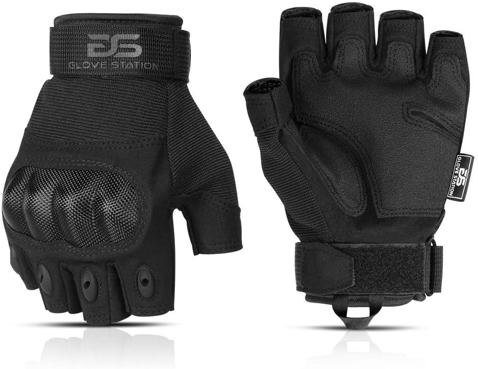Glove Station Combat Fingerless Gloves