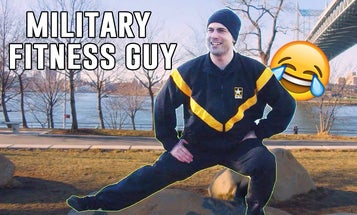 Here is every bad 'fitness guy' you'll meet in the military