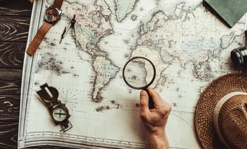 How to use a map and compass to help you get unlost