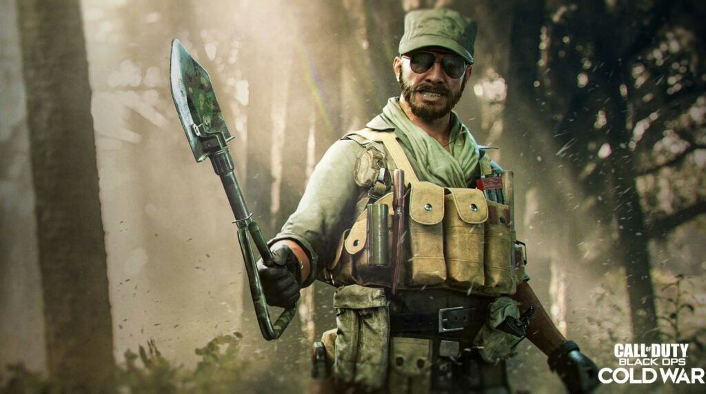'Call of Duty' wants you to bring a shovel to a gunfight, like these 4 badasses did in real life