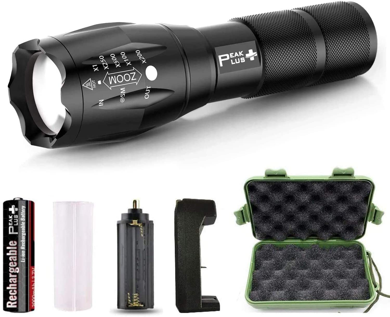 PeakPlus Rechargeable Flashlight