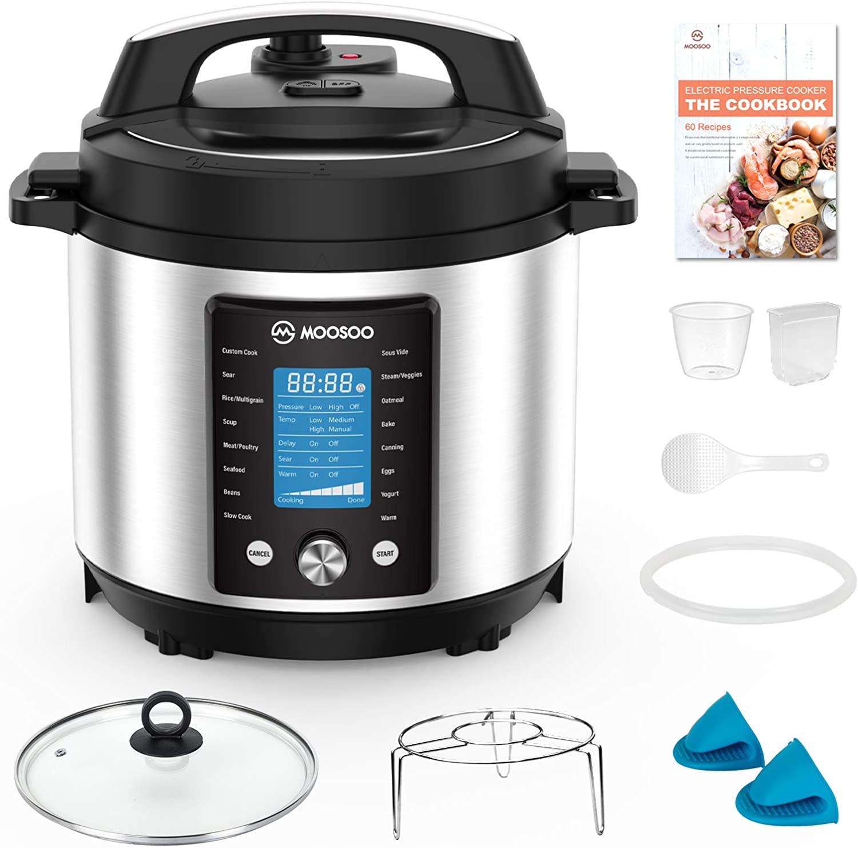 Moosoo electric pressure cooker