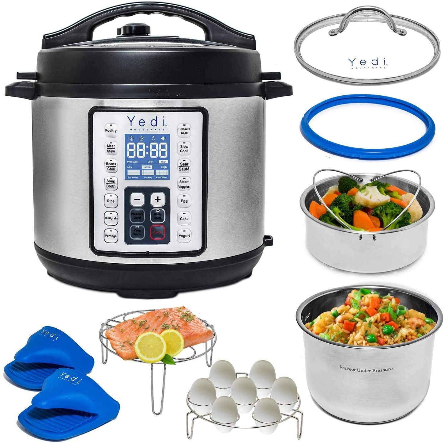 Yedi total package programmable instant cooker