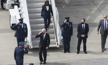 No, the 'presidential salute' isn't a thing — and neither is the 'vice presidential salute'