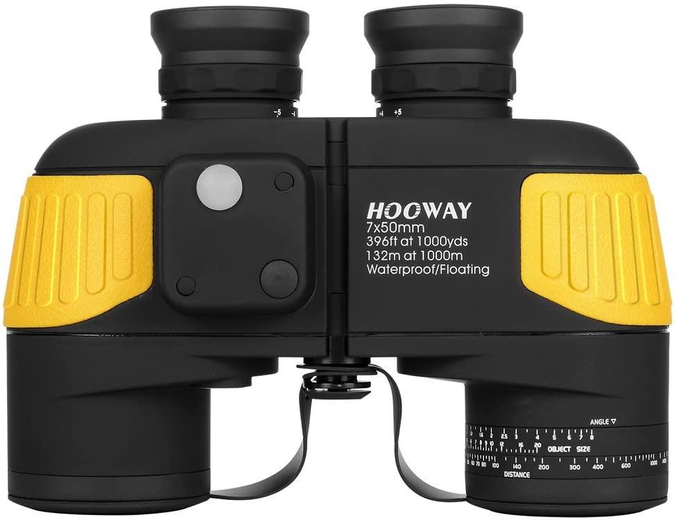 Hooway 7x50 Waterproof Binoculars