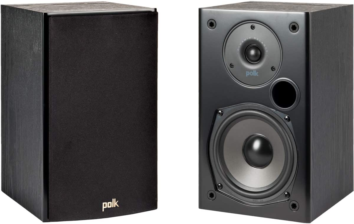 Polk Audio T15 100 Watt Bookshelf Speakers