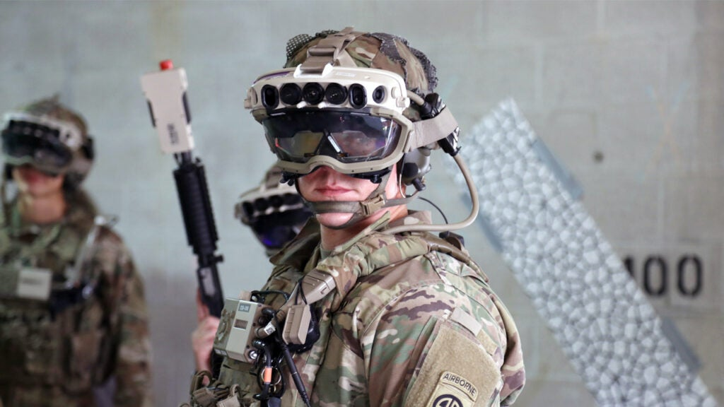 The view through the Army's new night vision goggle looks ripped right out of 'Halo'