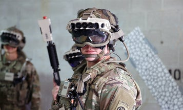 Soldiers are one step closer to having a heads up display plucked straight out of science fiction