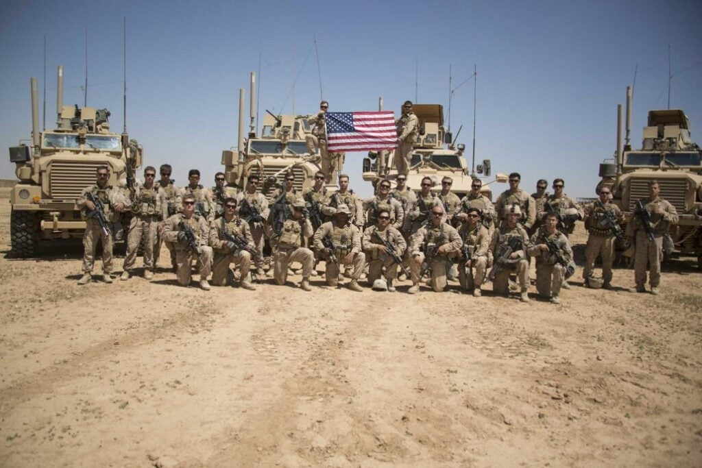 The Marine Corps' fight to 'degrade and defeat ISIS' using 'Reagan-flavored' Kool-Aid