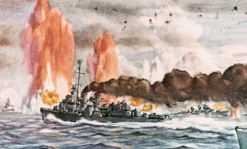 'Gallantry, guts and gumption' — The two-hour battle in the Pacific that turned a Navy captain into a legend