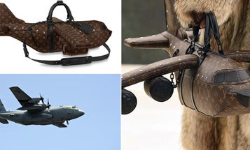 At $39,000, this C-130-styled handbag costs half the salary of an actual Air Force pilot