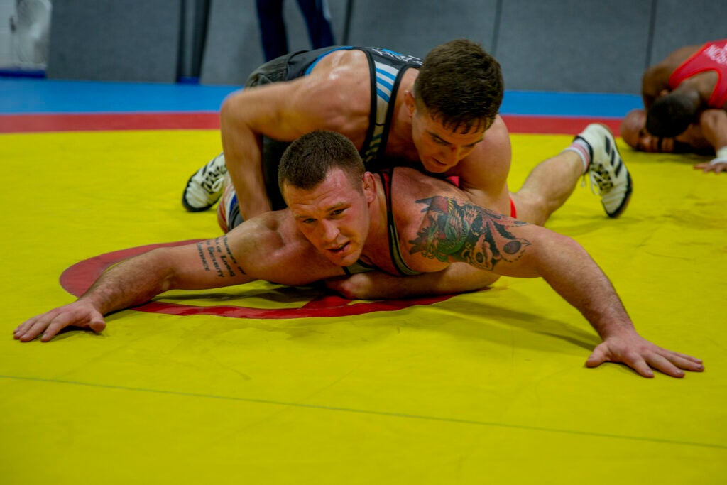 A US Marine will wrestle in the Olympics for the first time in decades