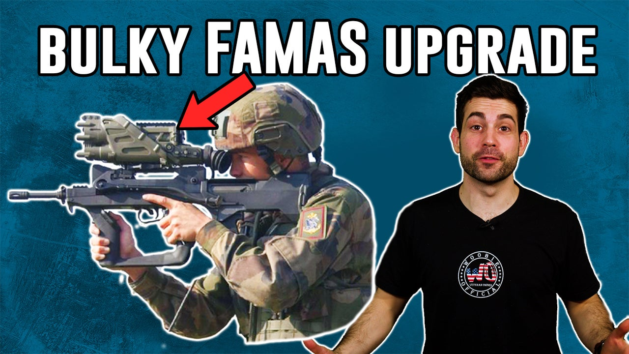 The French military is phasing out the FAMAS and we're honestly sad to see it go