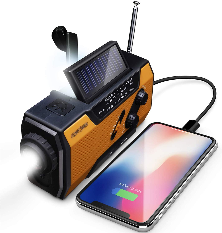FosPower Emergency Portable Radio
