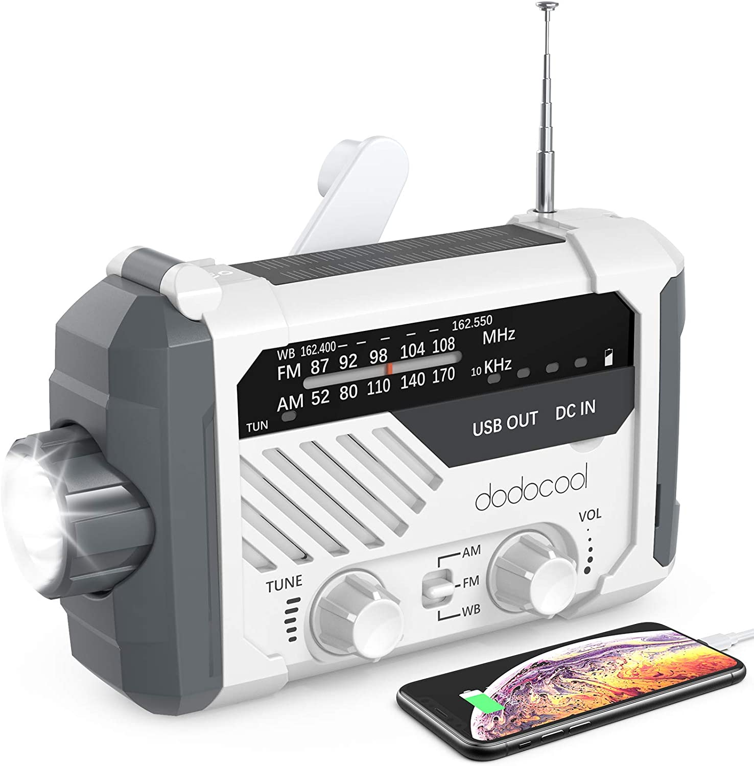 Dodocool Emergency Radio