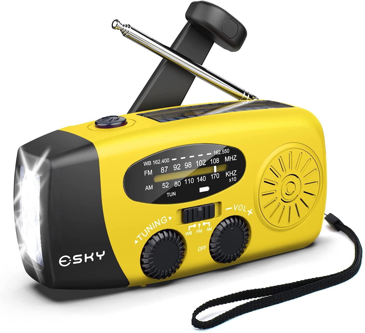 Esky Emergency Hand Crank Radio