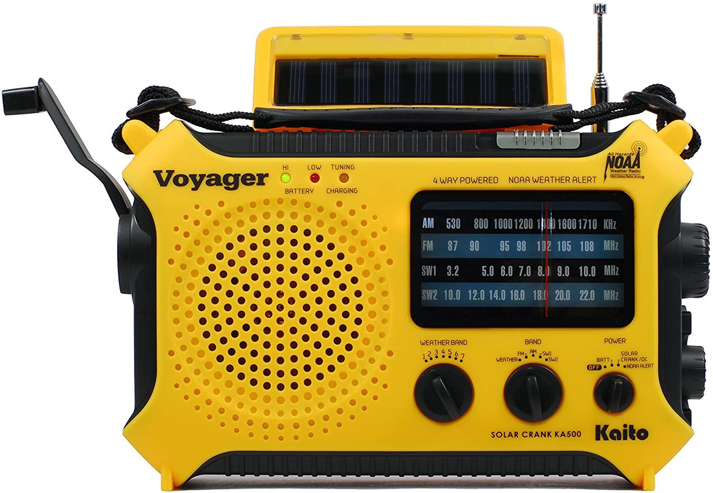 Kaito 5-Way Solar Emergency Radio