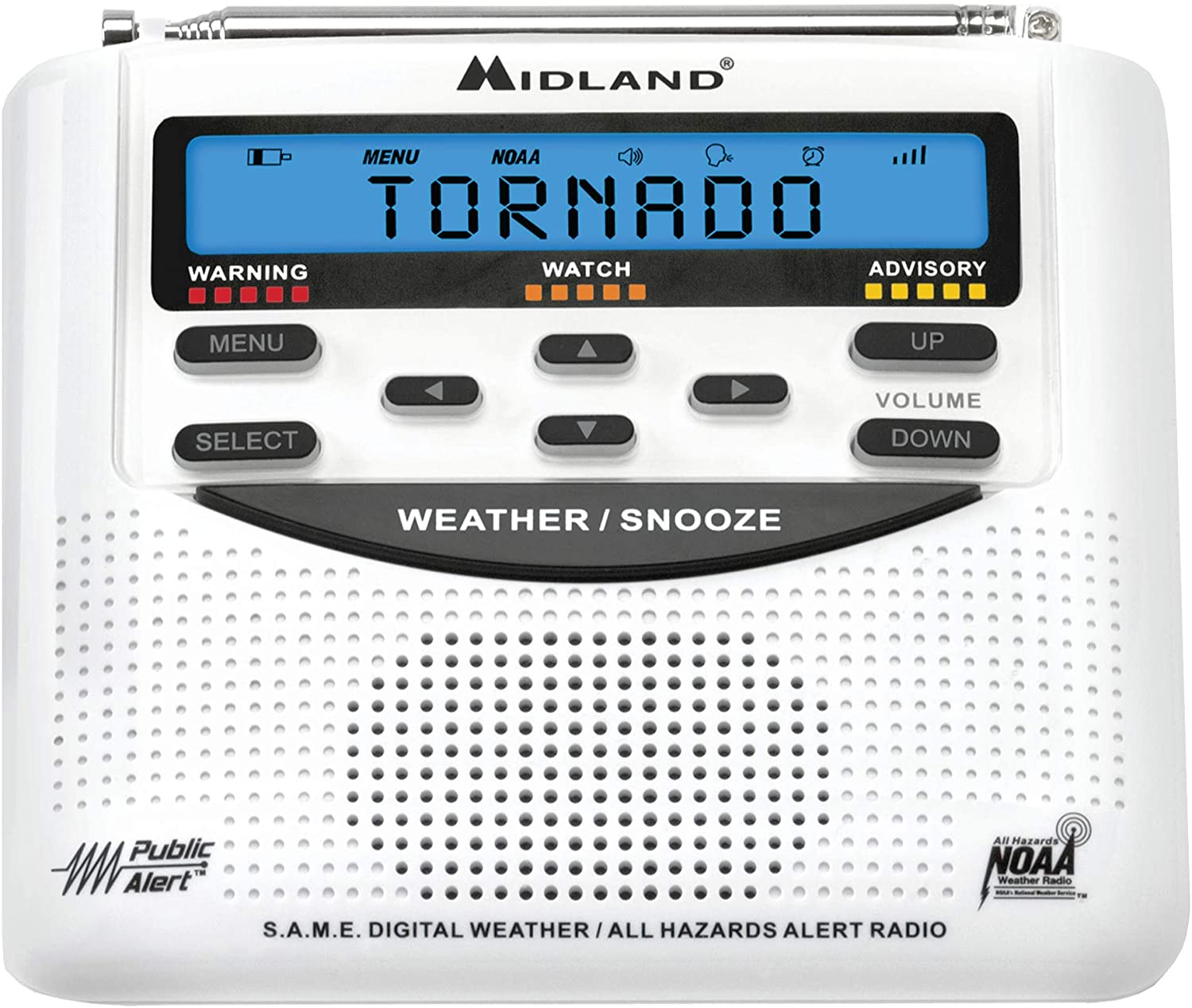 Midland NOAA Emergency Alert Radio