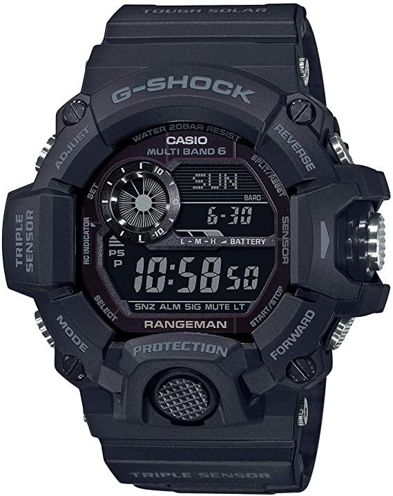 Casio Tactical Rangeman G-Shock Solar Atomic Watch