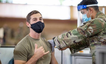 These soldiers opted out of getting the COVID-19 vaccine. Here's why they changed their minds