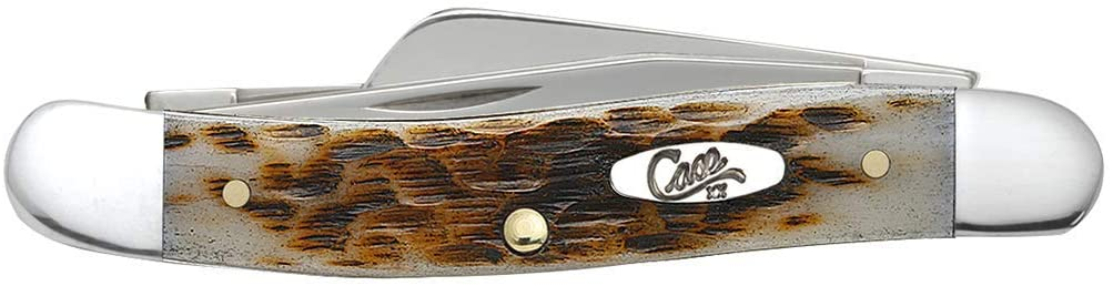 Case Amber Bone Pocket Knife
