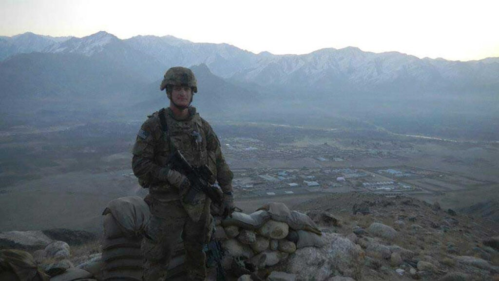 'Why are you leaving now?' — A rookie Afghan policeman, a combat veteran, and a shared loss of naivety