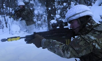 These British soldiers had the coolest training ever (literally)