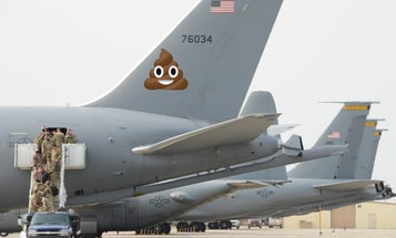 The Air Force's troubled KC-46 aircraft has a toilet that leaks shit everywhere