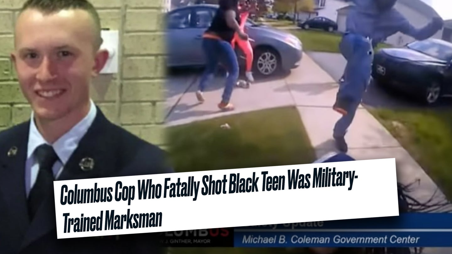 Dear media: 'Military-trained marksman' doesn't mean what you think it means