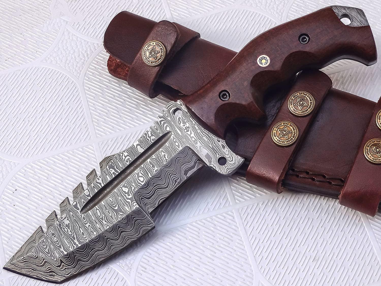 Poshland TR-301 Damascus Tracker Knife
