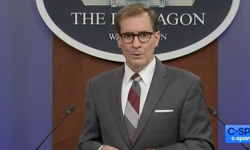 When the Pentagon spokesman gets asked about Polish strippers and geopolitics: 'No, no, no'