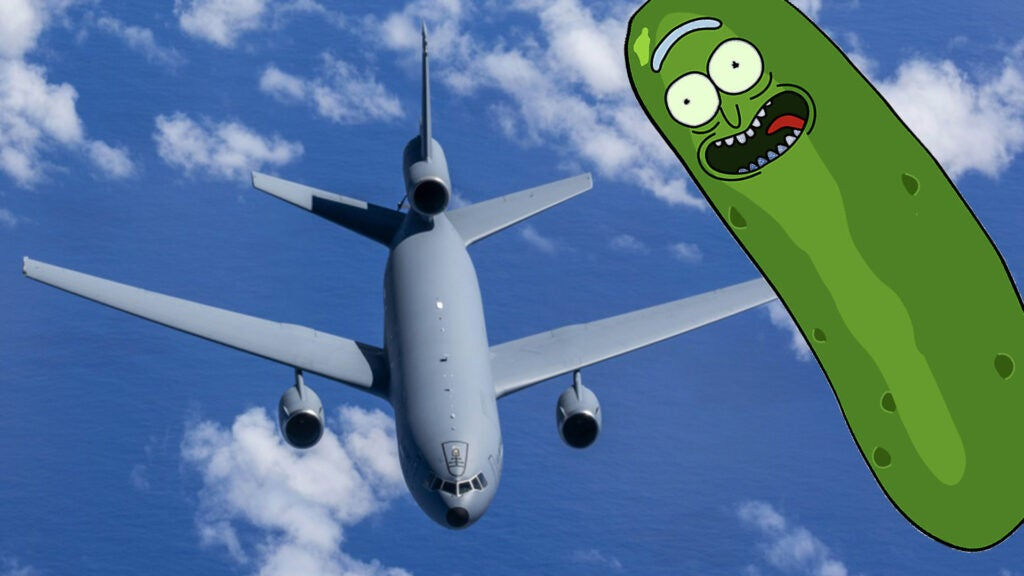 'PIKLRICK': We salute the Air Force pilot who flew with a 'Rick and Morty' callsign