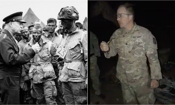 This Army specialist's inspiring speech about moving 'down this bullcrap range' ranks up there with Eisenhower's D-Day address