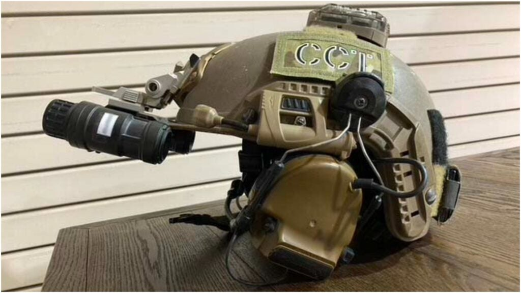 Putting warheads on foreheads — This is the gear Air Force combat controllers carry into battle