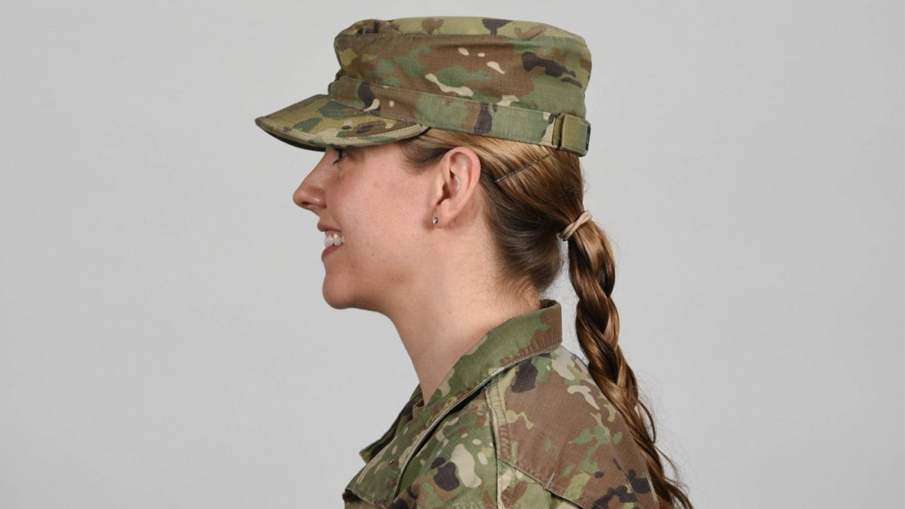 The Army will now allow women to wear ponytails in all uniforms