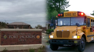 fort jackson school bus